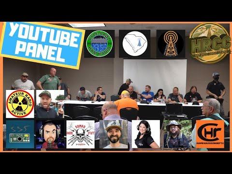 Ham Radio Youtube Creator Panel - Huntsville Hamfest