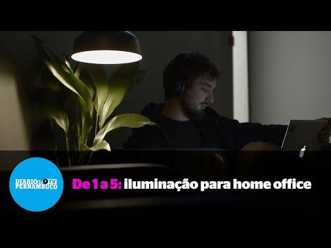 De 1 a 5 : Cuidados com a luz são essenciais na rotina do trabalho remoto