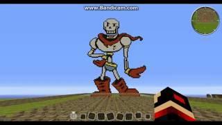Minecraft Noteblock Music:Undertale OST-Nyeh Heh Heh &Bonetrousle