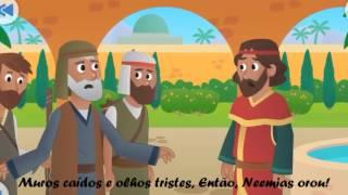 Canção: RECONSTRUÇÃO DOS MUROS, A ALEGRIA DO SENHOR É MINHA FORÇA | Informações Descrição do vídeo!