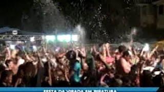 Piratuba tem uma das maiores festas de reveillon de Santa Catarina