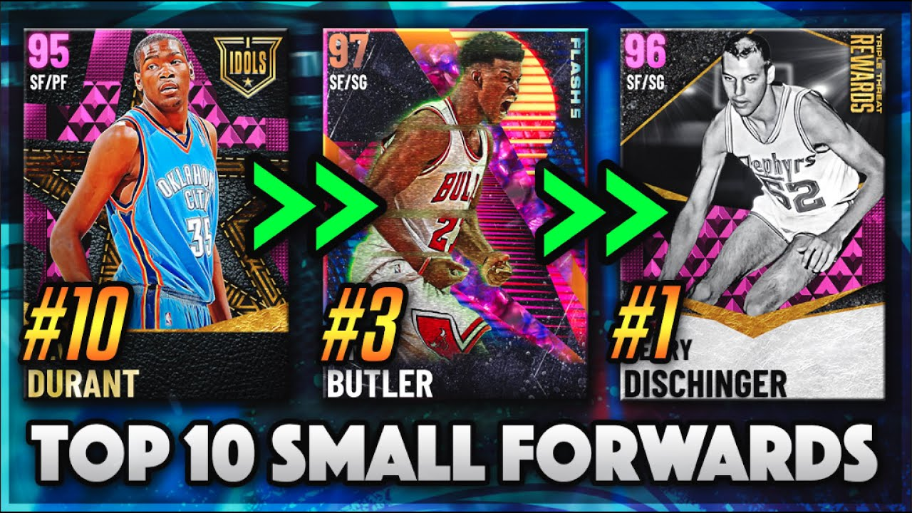 DBG - TOP 10 BEST SMALL FORWARDS IN NBA 2K21 MyTEAM!!