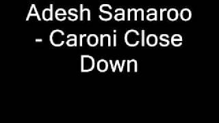 Adesh Samaroo - Caroni close down