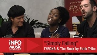 Iyeoka & The Rock by Funk Tribe - Simply Falling - LIVE 2013