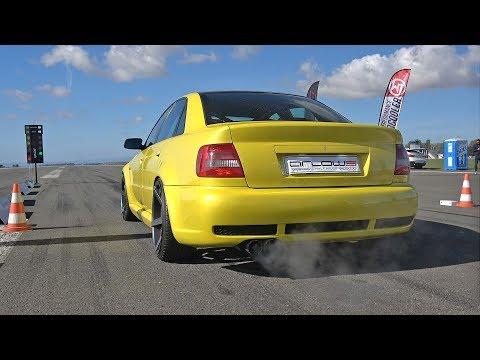 1000HP Audi S4 B5 TTE950 Turbocharger 0-270KM/H Accelerations!