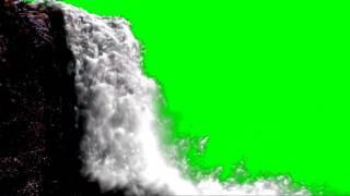 Green Screen water fall