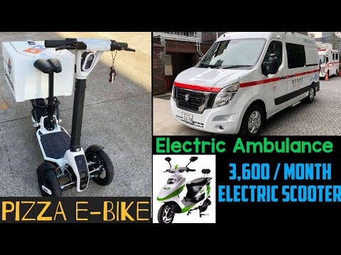 Pizza E-Bike ,Nissan EV Ambulance, Volkswagen eTransporter, eBikeGo - EV News 93