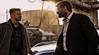 "LOGAN [2017] Scene: ""...Go get her""/'The Reavers'."