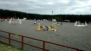 Perfect Puzzle jump off at Cabin Equestrian