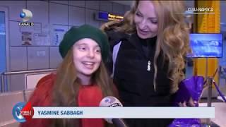 Stirile Kanal D (28.11.2018) - Yasmine Sabbagh, star la Cluj-Napoca! Cum a fost primita la aeroport?