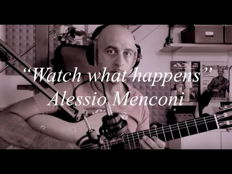 """Watch what happens""- Alessio Menconi plays ""Cort"" AC 160 CF"