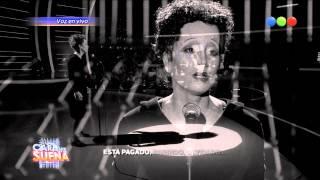 Florencia Peña es Edith Piaf - Tu Cara Me Suena 2014
