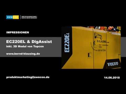 EC220E DigAssist 3D
