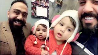 مصطفى العبدالله مع علي جاسم مع اصغر طفله تكول يمه ويغنون الها