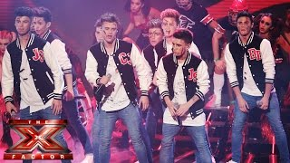 Stereo Kicks sing Backstreet Boys' Rock Your Body | Live Week 4 | The X Factor UK 2014