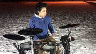 Addicted - Shaun Frank and Violet Days - Drum Cover by Raven Mairena