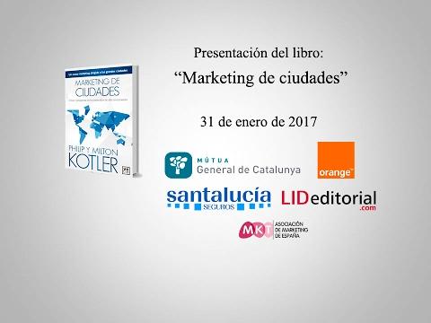 """Presentación del libro """"Marketing de ciudades"""" en Madrid"""