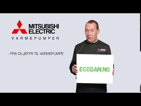 Fra Oljefyr til Varmepumpe - gå inn på ecodan.no