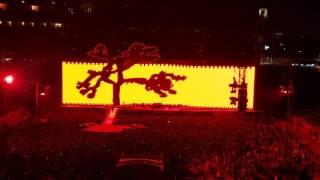 U2...Intro to Joshua Tree, Santa Clara May 2017