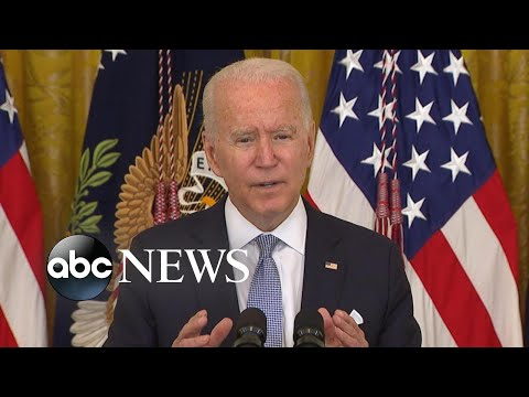 Biden delivers remarks on mask and vaccine policies for federal workers