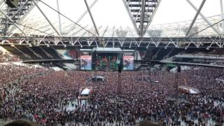 Guns n Roses welcome to the jungle live in London 2017