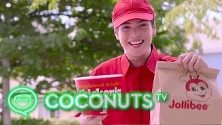 Man Tricks Jollibee Delivery Guy to Get Rebate | Coconuts TV