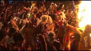 Ile de La Réunion : fête tamoule, le Karmon 2010 à Saint-Louis