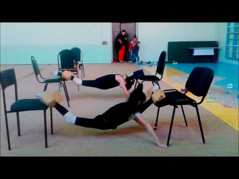 Rhythmic Gymnastic And Contortion Hard Stretching Routine