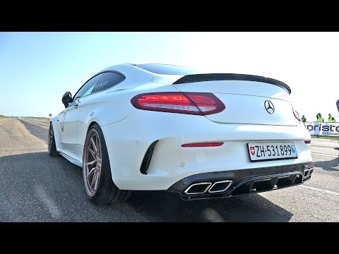 Mercedes-AMG C63 S Coupe Edition One with Catless Downpipes!