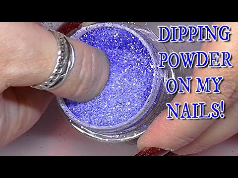 TIP AND DIP! ~TRYING GH DIP SYSTEM ON MY NAILS | Plus Bonus Video At The End | ABSOLUTE NAILS