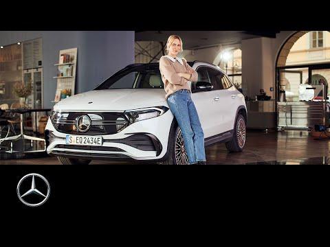 Die komplette Ladung EQA - Leonie von Hase erkundet den neuen Elektrischen von Mercedes-EQ.