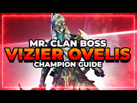 Vizier Champ Guide! Clan Boss KING | RAID Shadow Legends