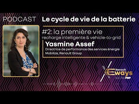 Podcast : Yasmine Assef et la première vie de la batterie – Episode 2