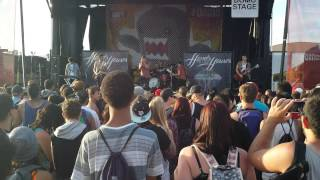 Hands Like Houses - Shapeshifter (Live 2013 Vans Warped Tour) New Song