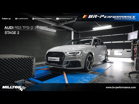 Audi RS3 2.5T GPF / Stage 2 By BR-Performance / MILLTEK exhaust