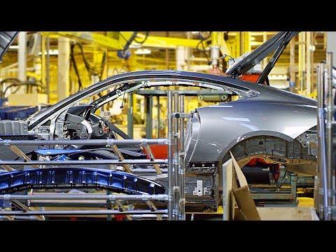 2020 Jaguar F-TYPE Production Line ? English Car Factory