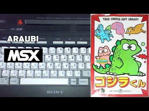 Gojira-kun (Compile, 1985) MSX [162] El Kiosko