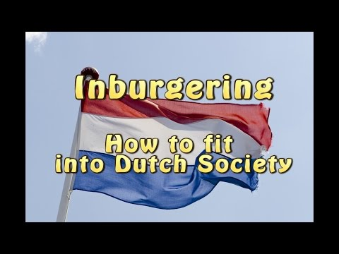 Inburgering How to Fit into Dutch Society photo