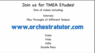 Orchestra Tutor - TMEA Cello Popper Etude 17, Tutorial Section 7