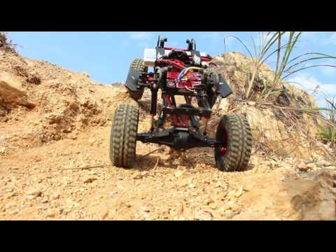 Boom Racing SPARTA™ Adjustable Aluminum Links & Sway Bars System for SCX10