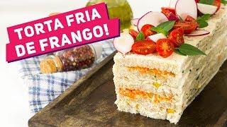 BOLO SALGADO DA MINHA INFÂNCIA (Como fazer torta fria de pão de forma) - Receitas de Minuto EXP #298