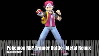 Pokemon RBY Trainer Battle - Metal Guitar Cover
