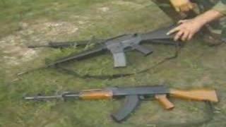 Assault Rifles - G3, M16, AK47