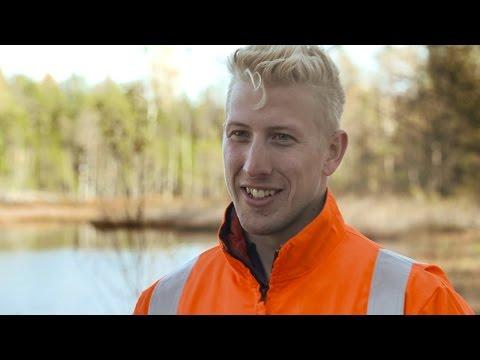 Yrkesfilm Skogsvårdsarbetare