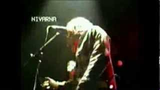 NIRVANA 'About A Girl' live in France 1989