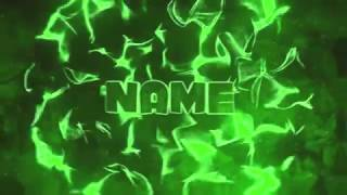 Free Green 3D Intro Template | Sony Vegas Pro 11-14