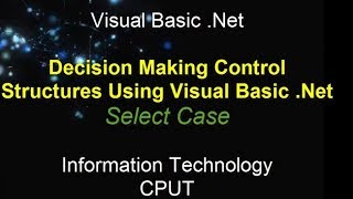 Structures and Select Case statement using Visual Basic width=