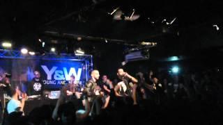 Aketo (Sniper) - Graver dans la roche live @NewMorning 17.01.16 #ScredFestival #Jour3