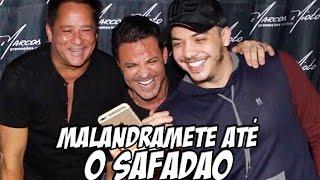 WESLEY SAFADÃO VAI GRAVA A MUSICA MALANDRAMENTE DO MC NANDINHO E NEGO BAM