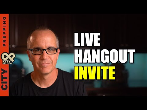 We Need To Talk!  Live Hangout Invite this Friday (6/4/21)